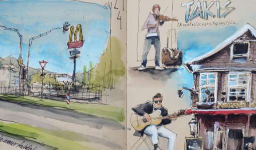 Urban Sketching Basics