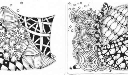 After Work: Zentangle® – die meditative Zeichenkunst
