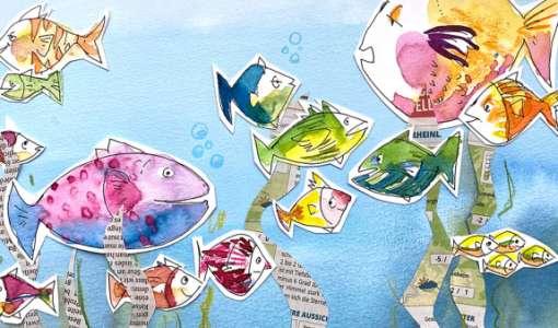 Ganz einfach zeichnen lernen: Wir schwärmen für Fische