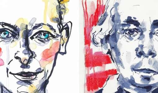 Portraits mit Tusche Basics