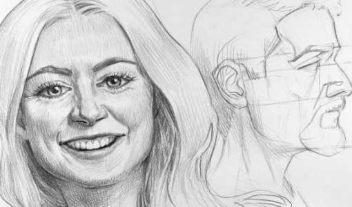 Ganz einfach – Gesichter Zeichnen